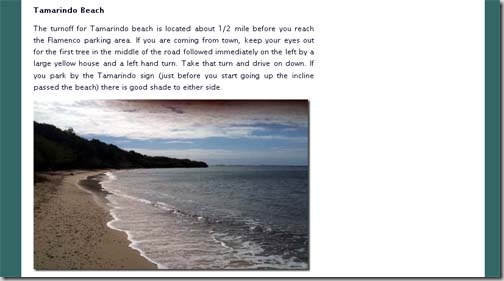 culebra beach example