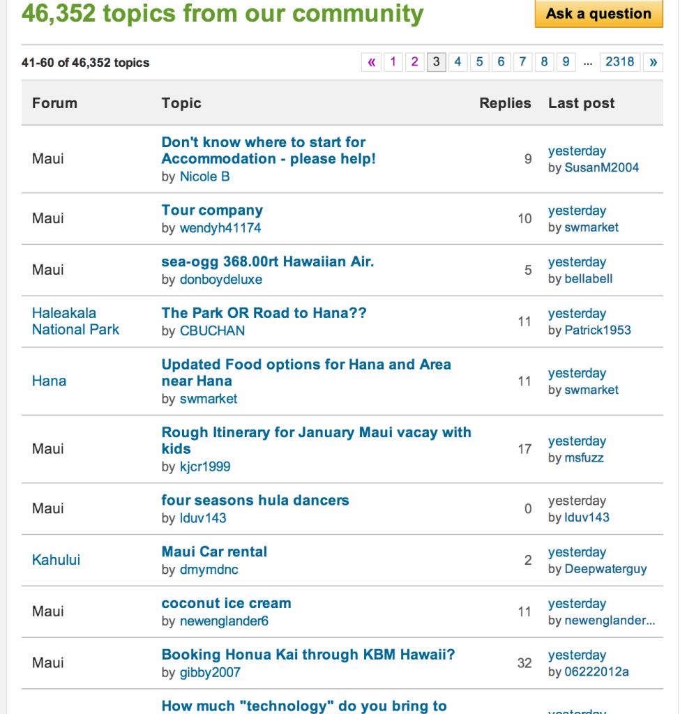 maui tripadvisor forum