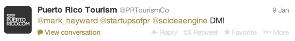 twitter puerto rico tourism 2
